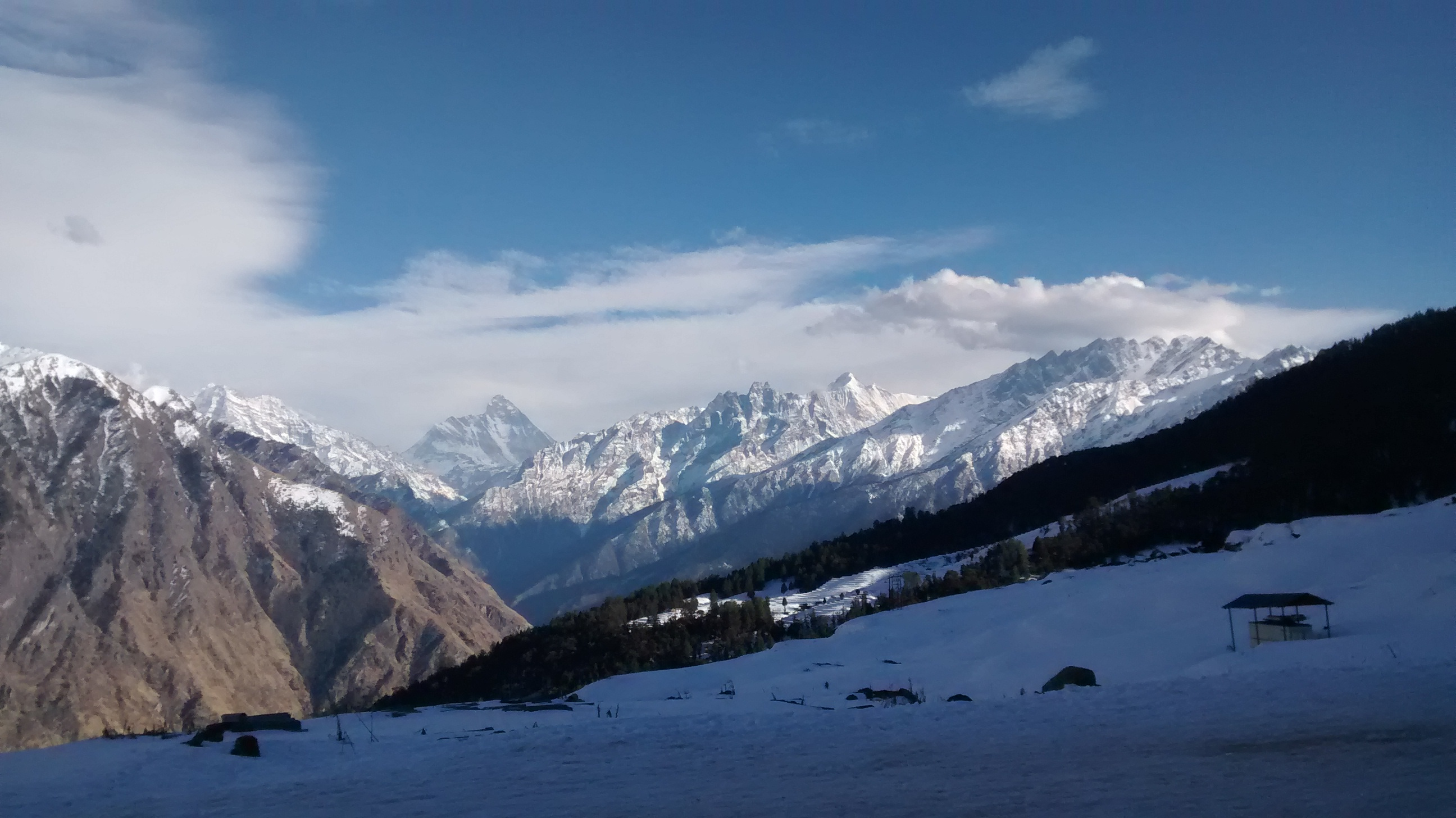 Auli, a popular destination for IIT Roorkee students during their Spring Semester.