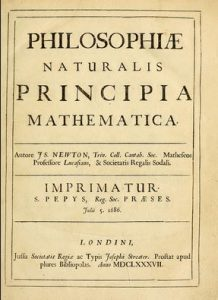 Facsimile of Principia's Coverpage