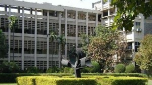 Iconic image of the 'main building' of the campus.