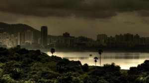 And when there is nothing to do, they gaze at the rain, the lake, the clouds and Hiranandani
