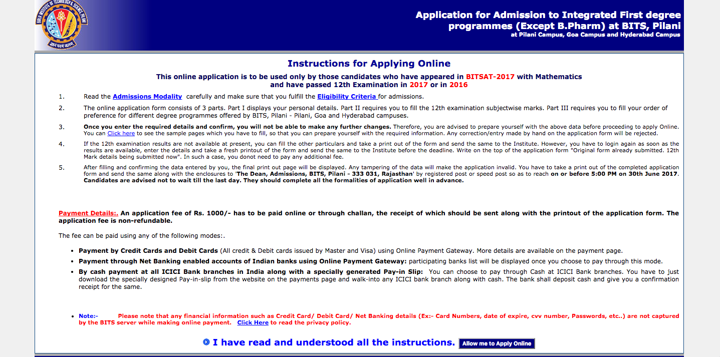BITSAT Admit List 2018 - Check out your expected BITS College! on registration marks, registration letter, registration box, registration icon, registration renewal, registration page, registration sign, registration steps, registration data, registration table, registration open, registration time, registration button, registration template, registration code, registration list, registration gateway, registration sticker, registration light, registration sheet,