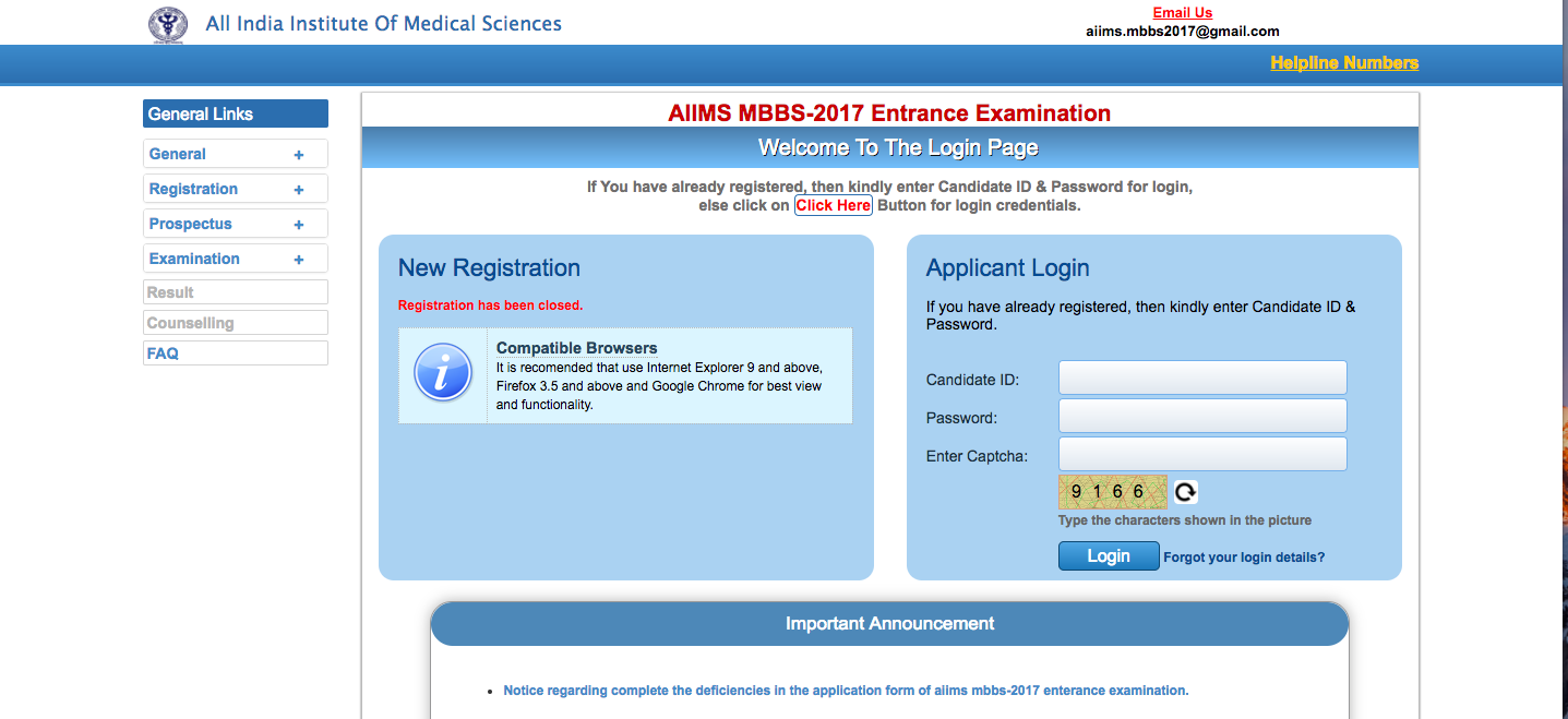 AIIMS MBBS 2018 Results Declared - Check your result here!