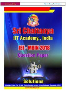 Jee-Main-2018-Q-Paper-Key-and-Solutions-Code-C-Sri-Chaitanya | Toppr